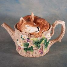 Fitz & Floyd Fox Teapot