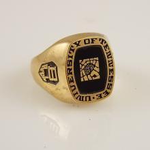 University of Tennessee 10K Y.G. Men's Ring
