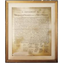 Print of The Declaration of Independence        17