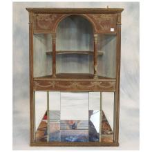 19th C French Corner Display Cabinet  49