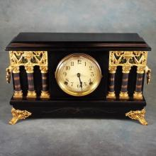 The Sessions Clock Co. Clock in Working Order w/Key