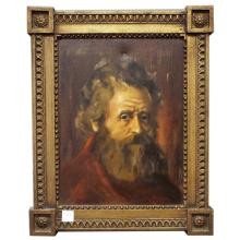 Framed Oil on Canvas of Gentleman - Signed Lower Right    12