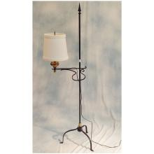 Primitive Iron Floor Lamp