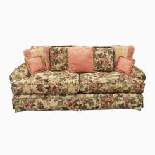 7' Over-stuffed Sofa by Norwalk Furniture