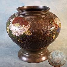 Champleve Vase