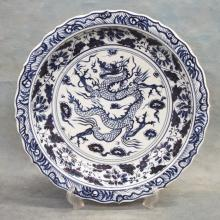 Chinese Decorated Porcelain Charger