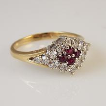 14K Y.G. Ladies' Ring