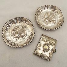 German & Sterling Silver