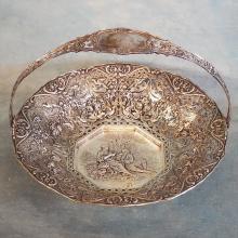 Silverplate Bridal Basket