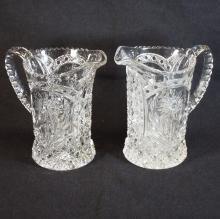 Pressed Glass Pitchers