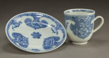 Chinese Blue and White Tea Cup Set
