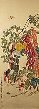 Chinese Painting Flowers ChenBanDing(1876-1970)