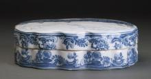 Chinese Qing Dynasty Porcelain Box