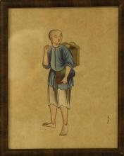 Antique Chinese Figure Painting
