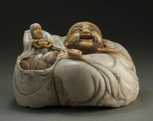 Sculpture Of Two Figures