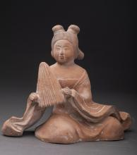 Tang Dynasty Style Color Ceramic Figure
