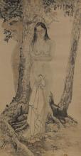 Chinese Portrait Painting HeJiaYing (1957-)