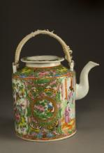 Chinese Qing Dynasty Famille Rose Tea Pot