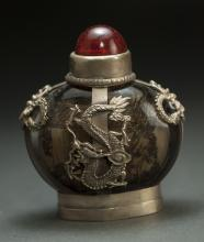 Chinese Silver Glided snuff