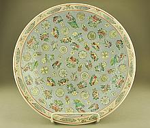 Qing Period Jiaqing Pastel Plate