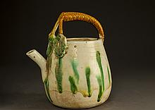 Chinese Tang Sancai Pottery Teapot