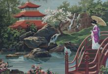 Japanese Oil Painting