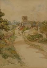 Oil Painting Signed By E. Ackroyd