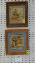Mickey Mouse Lithographs