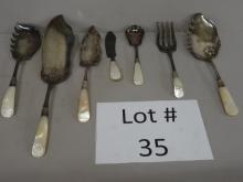 Sterling Banded Flatware