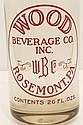 Vintage Wood Beverage Siphon Seltzer Bottle