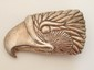 Eagles Head Sterling Silver Belt Buckle