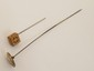 Limoges Hat Pin & Victorian Stick Pin