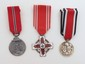 3 German Nazi Medals & Crosses