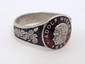 German Nazi WWII NSDAP Hitler Silver Ring