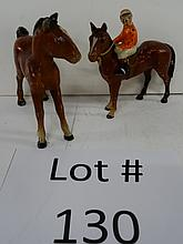 CAST IRON HORSES
