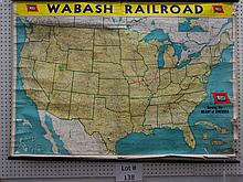 WABASH RAILROAD MAP