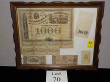 Confederate Paper Lot