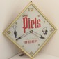 Vintage Piels Light Lager Beer Electric Clock