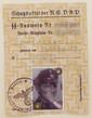 Ausweis (I.D.) of an SS-Man #2