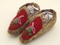 Tlingit Sealskin Trinkit Moccasins with Beadwork