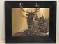 G. Bommer Framed 3-D Silvered Metal Art Picture
