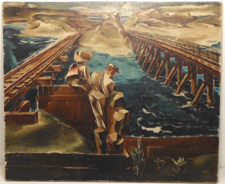 OOC Van Loan Railroad Bridge