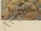 Aquatint Roland Clark