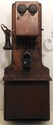 DeVeau 2 Box Wall Telephone Circa 1890's