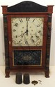 C&N Jerome Pillar & Scroll Clock