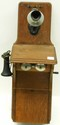Kellogg Large Fiddleback Wall Telephone