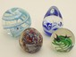 Lot of Four Art Glass Paperweights #3