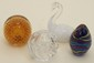 Lot of Four Art Glass Paperweights #9