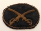 Vintage U.S. Cavalry Hat Patch