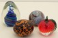 Lot of Four Art Glass Paperweights #14